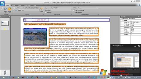 Skjermbilde Readiris Pro Windows 7
