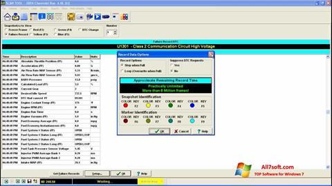 Skjermbilde ScanTool Windows 7