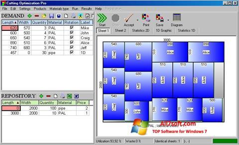Skjermbilde Cutting Windows 7