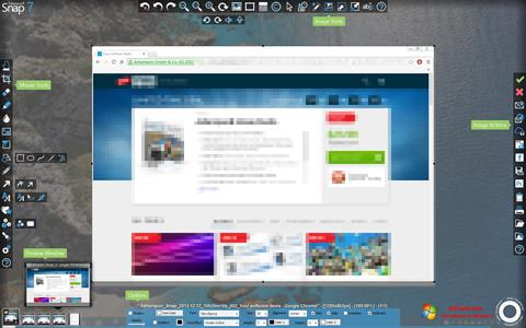 Skjermbilde Ashampoo Snap Windows 7