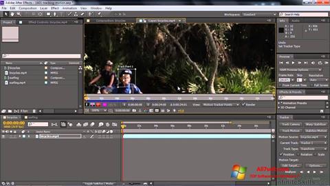 Skjermbilde Adobe After Effects CC Windows 7