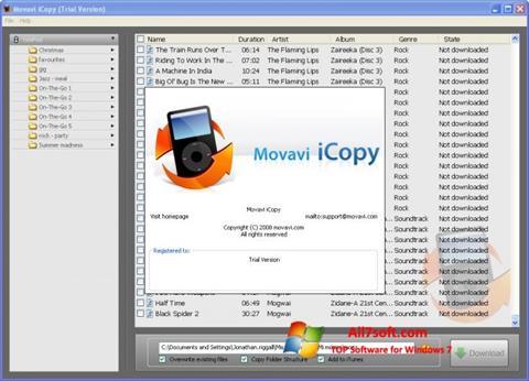 Skjermbilde iCopy Windows 7