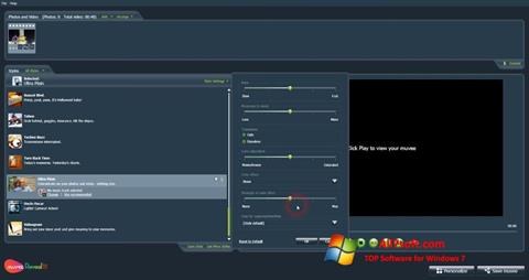 Skjermbilde muvee Reveal Windows 7