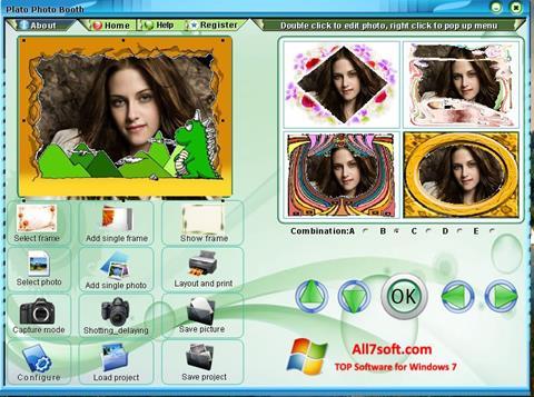 Skjermbilde Photo Booth Windows 7