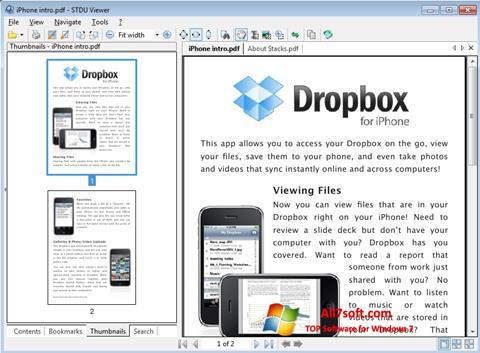 Skjermbilde STDU Viewer Windows 7