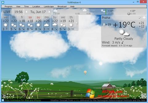 Skjermbilde YoWindow Windows 7