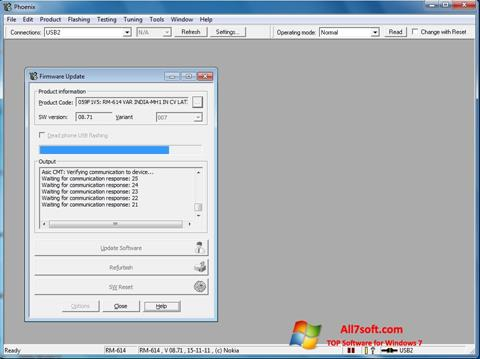 Skjermbilde Phoenix Windows 7