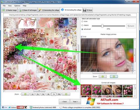 Skjermbilde Photo Collage Windows 7