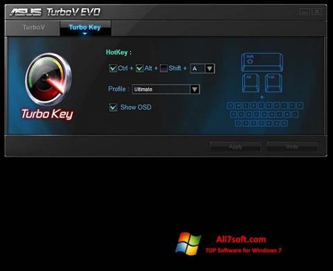 Skjermbilde TurboV EVO Windows 7
