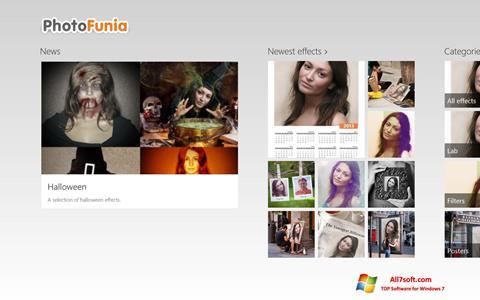Skjermbilde PhotoFunia Windows 7