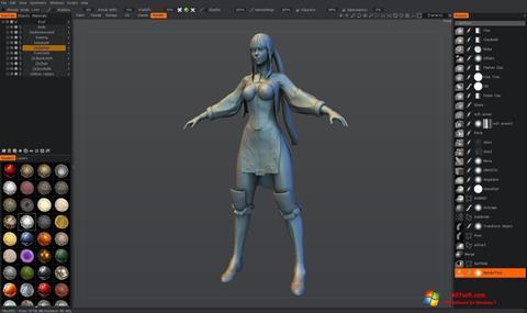 Skjermbilde 3D-Coat Windows 7