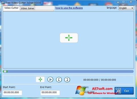 Skjermbilde Free Video Cutter Windows 7
