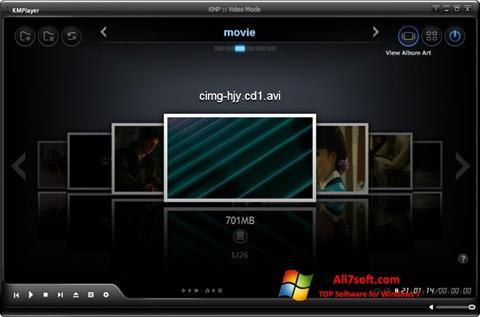 Skjermbilde KMPlayer Windows 7