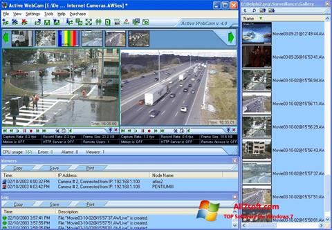 Skjermbilde Active WebCam Windows 7
